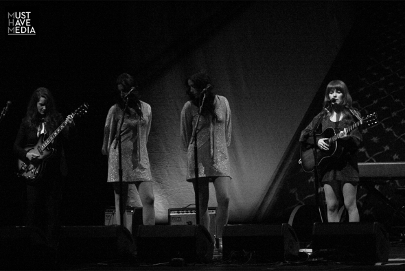 Jenny Lewis and The Watson Twins at The Masonic, by Joshua Huver