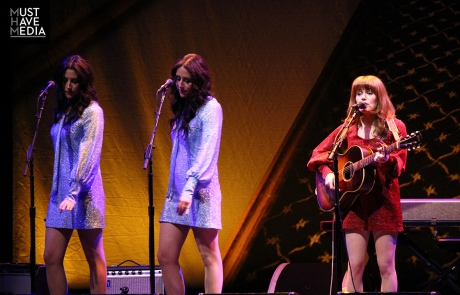 Jenny Lewis welcomed Ben Gibbard to close 'Rabbit Fur Coat' tour at The Masonic