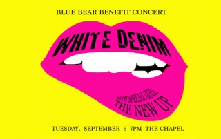 Blue Bear School of Music Benefit at The Chapel flier