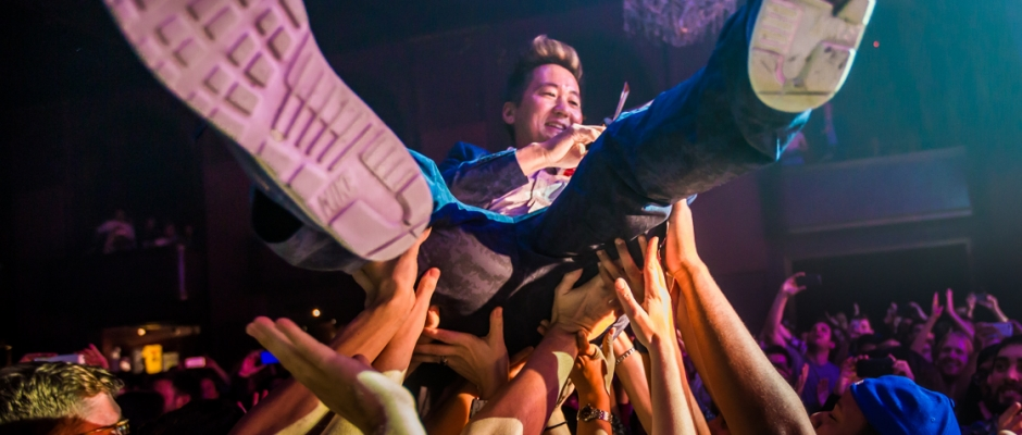 Review + Photos: Kishi Bashi brightens up The Fillmore
