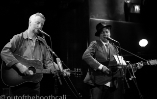 Billy Bragg & Joe Henry at the Great American Music Hall, by Ria Burman
