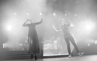 Fitz and the Tantrums at The Fox Theater, by Jessica Perez