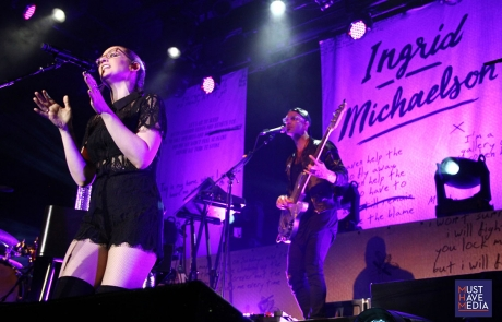 Ingrid Michaelson's first night at The Fillmore was a hit