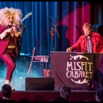 Kat Robichaud's Misfit Cabaret at Great Star Theater, by Patric Carver