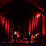 Sarah Bethe Nelson at Leonard Cohen Tribute at The Chapel, by Jon Bauer