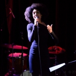 Renee Wilson at Leonard Cohen Tribute at The Chapel, by Jon Bauer