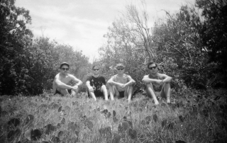 Thee Oh Sees b&w 11.29 & 11.30