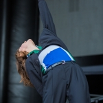 Christine and the Queens at Treasure Island Music Festival 2016, by Jon Ching