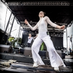 Sofi Tukker at Treasure Island Music Festival 2016, by Paige K. Parsons