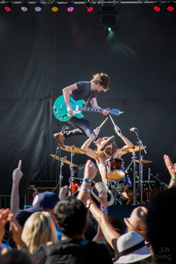 Black Pistol Fire at BottleRock Napa Valley 2016, Best of 2016, by Jon Ching
