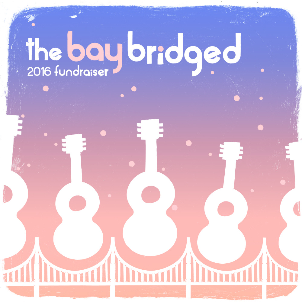 bay bridged fundraiser square art
