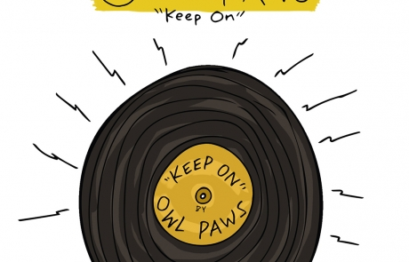 "Go behind the song with Owl Paws' premiere of ""Keep On"""