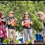 Underpass Brass at PRF BBQ West 2017, by Patric Carver