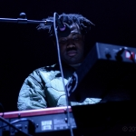 Sampha at Bill Graham Civic Auditorium, by Jon Bauer