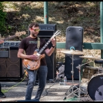 Color TV at PRF BBQ West 2017, by Patric Carver