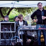 Sound Crew at PRF BBQ West 2017, by Patric Carver