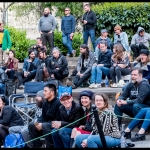 Crowd at PRF BBQ West 2017, by Patric Carver
