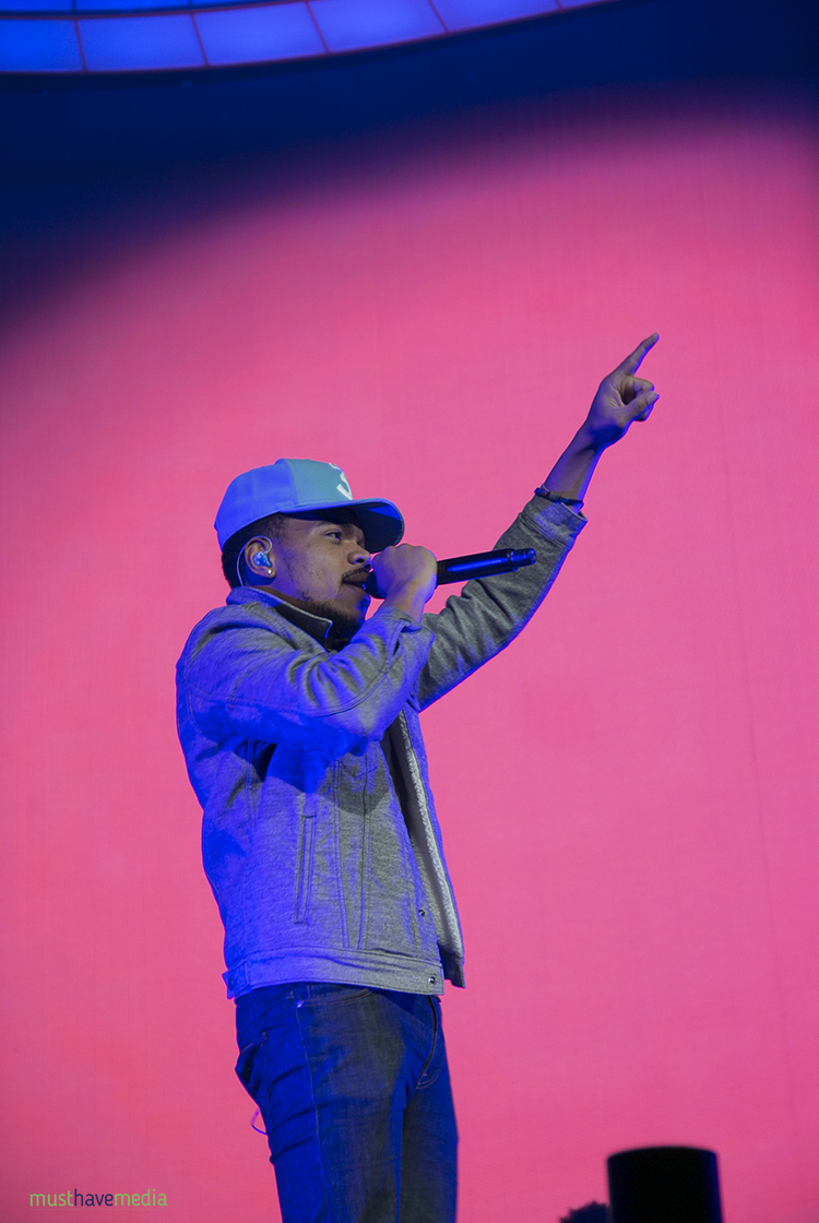 The coloring book chance the rapper tour - Chance The Rapper At Oracle Arena By Joshua Huver