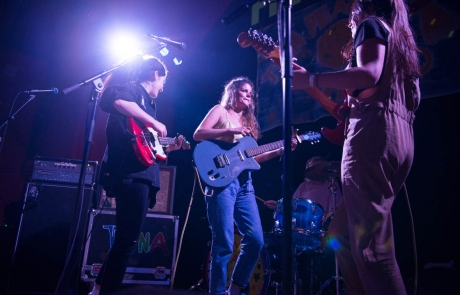 Hinds playing the Independent with Goodbye Honolulu