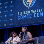 Pam Grier at Silicon Valley Comic Con 2017, by Robert Alleyne