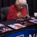 Nichelle Nichols at Silicon Valley Comic Con 2017, by Robert Alleyne