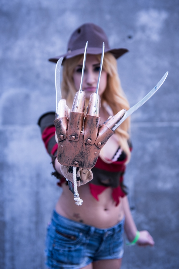 Freddy Krueger at Silicon Valley Comic Con 2017, by Robert Alleyne