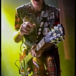 The Damned at The Fillmore, by Patric Carver