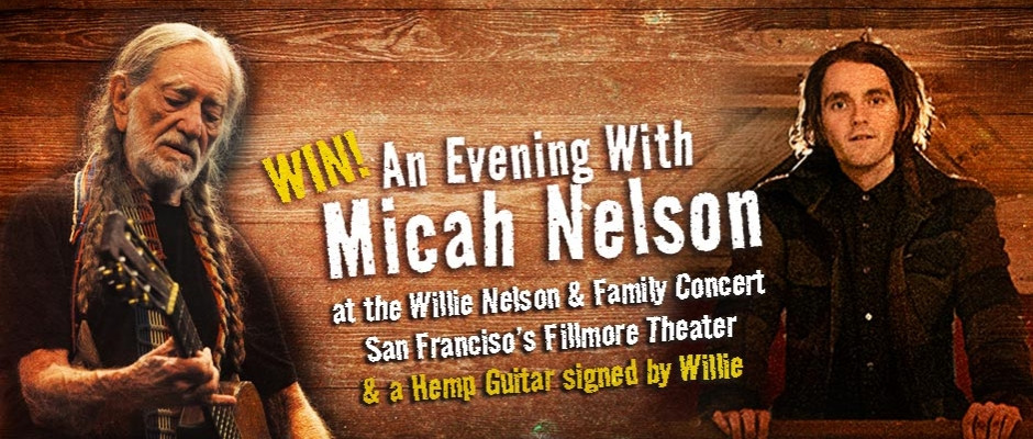 Sponsored: Micah Nelson takes the Fillmore stage for the National Hemp Association
