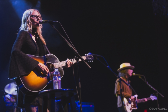 Aimee Mann & Jonathan Coulton at The Fillmore, by Ian Young