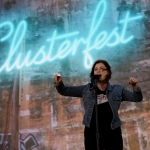 Rachel Bloom at Colossal Clusterfest 2017, by Jon Bauer