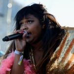 Lizzo at Colossal Clusterfest 2017, by Jon Bauer