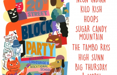 20th Street Block Party Lineup: It's here!