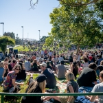 Crowd at Phono del Sol 2017, by Paige Parsons
