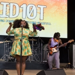 Tank and the Bangas at ID10T Festival 2017, by Estefany Gonzalez