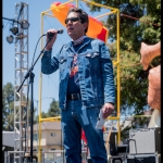 Chuck Ribak at Burger Boogaloo 2017, by Patric Carver