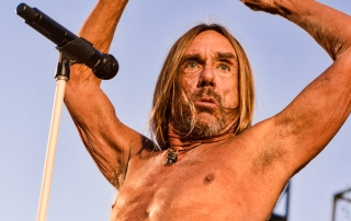 Iggy Pop at Burger Boogaloo 2017, by Aaron Rubin