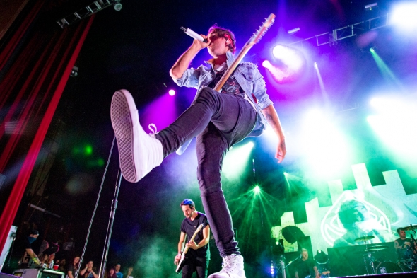 All Time Low at Fox Theater by Estefany Gonzalez