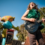 Redd Kross at Burger Boogaloo 2017, by Aaron Rubin