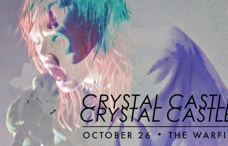 Sponsored: Crystal Castles to shake up the Warfield this fall