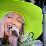 Little Dragon at Outside Lands Music Festival 2017, by Martin Lacey
