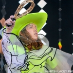 Little Dragon at the Outside Lands Music Festival 2017, by Martin Lacey
