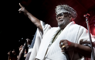 George Clinton & Parliament Funkadelic at Cornerstone, by Aaron Rubin