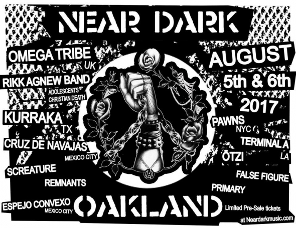 Near Dark Fest flyer