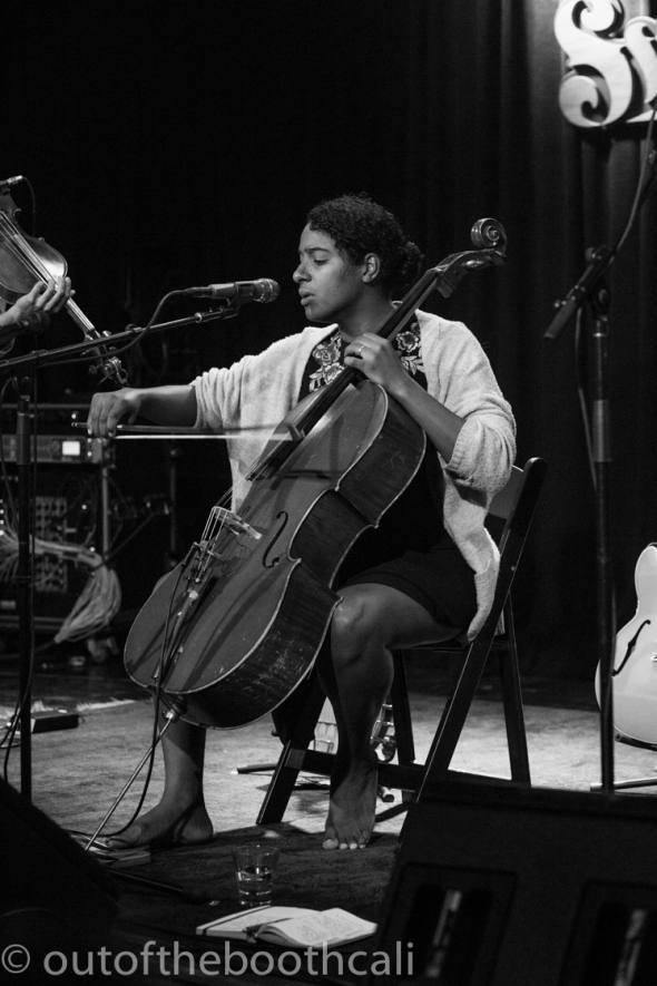 Leyla McCalla at the Sweetwater Music Hall, by Ria Burman