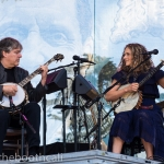 Bela Fleck & Abigail Washburn at Hardly Strictly Bluegrass 2017, by Ria Burman