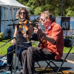 Kieran Kane & Rayna Gellert at Hardly Strictly Bluegrass 2017, by Ria Burman