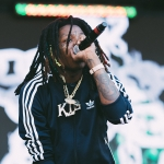 Nef The Pharaoh at Rolling Loud 2017, by Regidor Biala