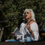 Lampedusa with Emmylou Harris at Hardly Strictly Bluegrass 2017, by Ria Burman