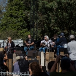 Lampedusa with David Pulkingham, Patty Griffin, Steve Earle, Emmylou Harris, Buddy Miller & Lucinda Williams at Hardly Strictly Bluegrass 2017, by Ria Burman