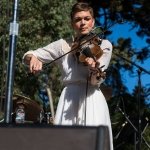 Lillie Mae at Hardly Strictly Bluegrass 2017, by Ria Burman